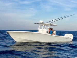 Used Invincible 33 Open Fisherman Sports Fishing Boat For Sale