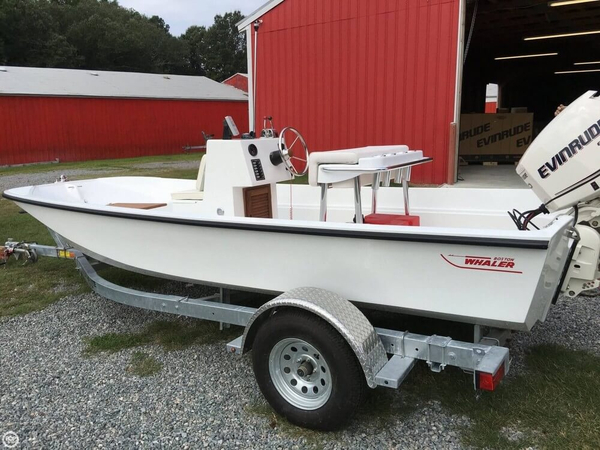 Used Boston Whaler 17 Center Console Fishing Boat For Sale