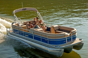 New Lowe SS250 Walk-Thru Pontoon Boat For Sale