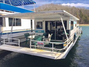 Used Jamestowner Houseboat 14 X 57 House Boat For Sale