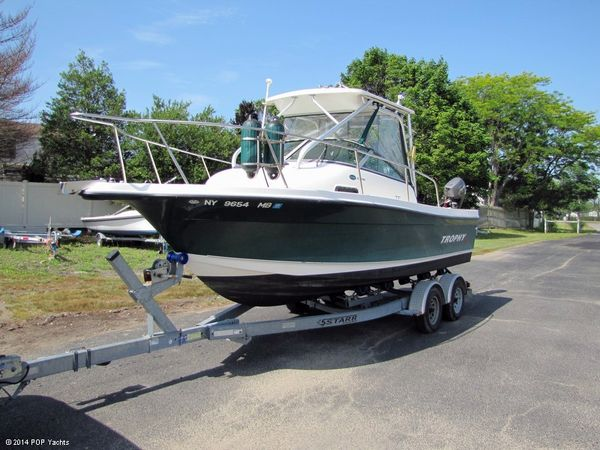 Used Trophy 21 WA Walkaround Fishing Boat For Sale