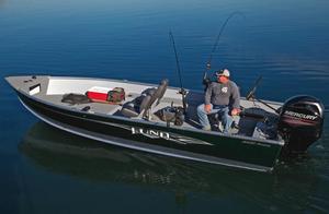 New Lund 2000 Alaskan Tiller Utility Boat For Sale