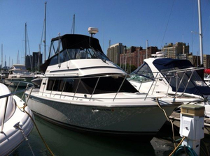 Used Carver 28 Mariner Voyager Cruiser Boat For Sale