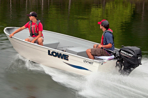 New Lowe 1467 WT Utility V Utility Boat For Sale