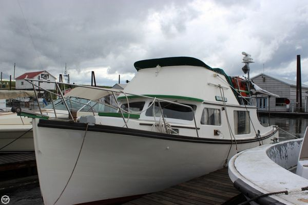 Used Custom 32 Downeast Fishing Boat For Sale