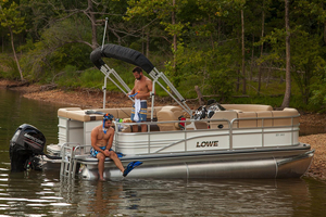 New Lowe Pontoon Boat For Sale