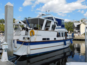 Used Marine Trading Marine Trader 44 Sundeck Aft Cabin Boat For Sale