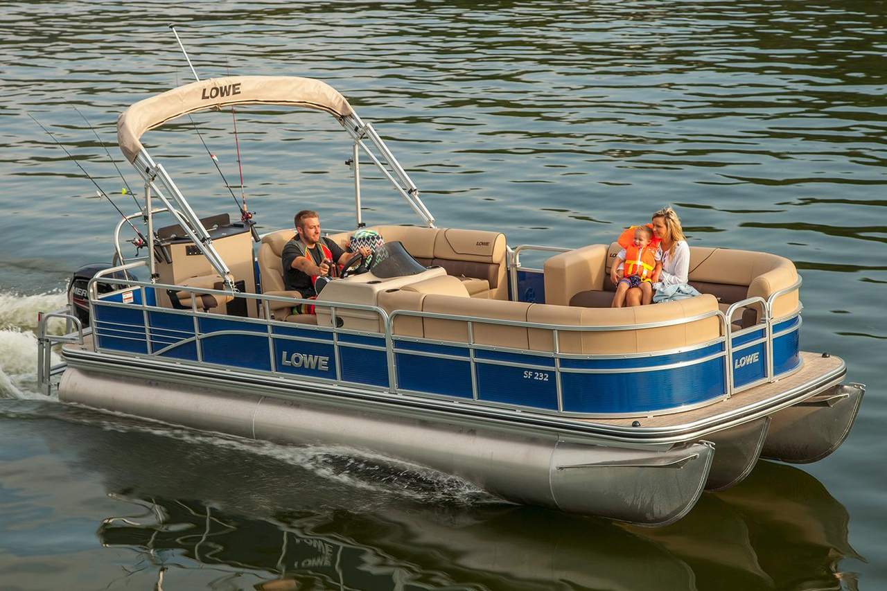Fishing Pontoon Boats For Sale >> 2017 New Lowe Sf232 Sport Fish Pontoon Boat For Sale Cadott Wi