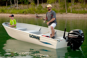 New Lowe Utility Boat For Sale