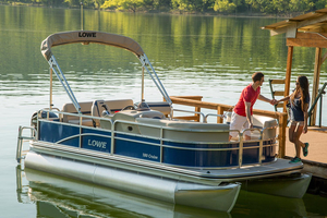 New Lowe Ultra 180 Cruise Pontoon Boat For Sale