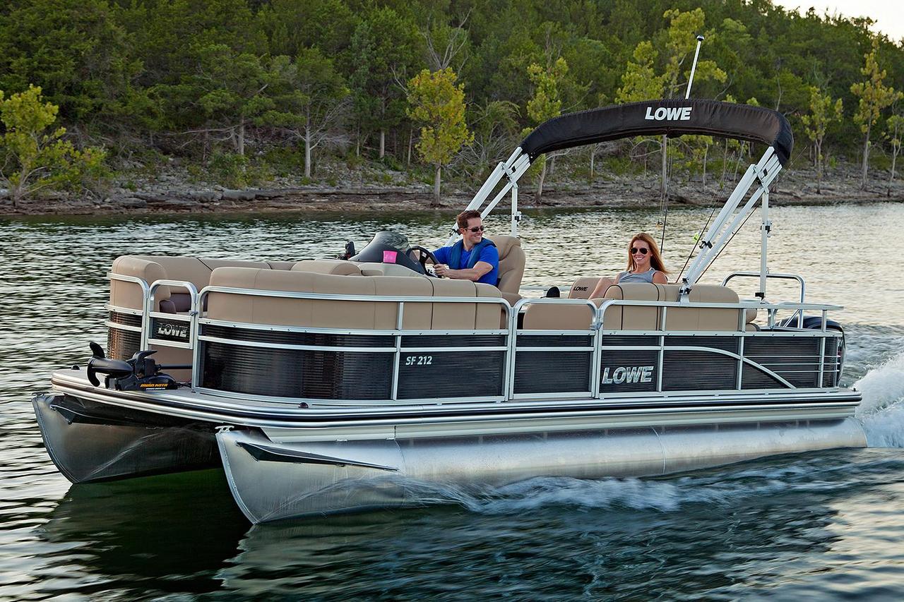 Fishing Pontoon Boats For Sale >> 2017 New Lowe Sf212 Sport Fish Pontoon Boat For Sale Cadott Wi
