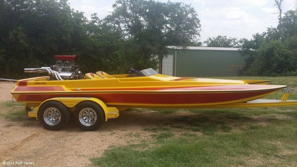 Used Liberator 21 Drag Boat High Performance Boat For Sale