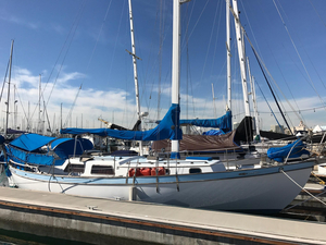 Used Custom Atkins Ingrid Cutter Sailboat For Sale