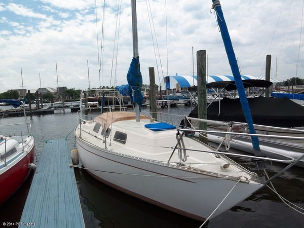 Used Columbia 8.7 Sloop 29 Wide Body Sloop Sailboat For Sale
