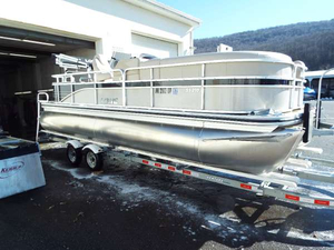 Used Lowe SS210 Pontoon Boat For Sale