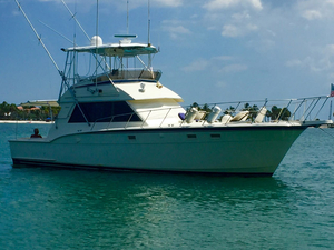 Used Hatteras 46 Convertible Cruiser Boat For Sale