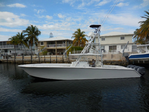 Used Sea Hunter 45 CC Center Console Fishing Boat For Sale