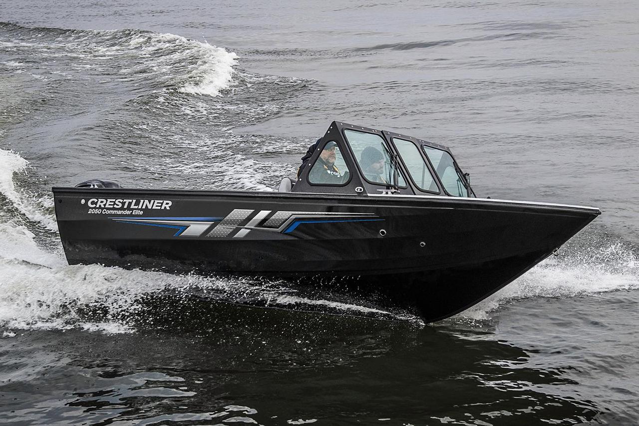 2017 new crestliner 2050 commander elite aluminum fishing for Fishing boats for sale mn