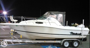Used Wellcraft 24 Walk Around Walkaround Fishing Boat For Sale