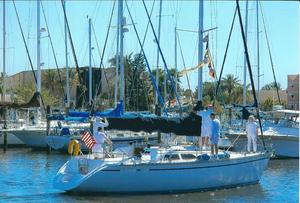 Used Hunter 355 Legend Sloop Sailboat For Sale