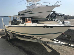 Used Key Largo 174 Center Console Fishing Boat For Sale