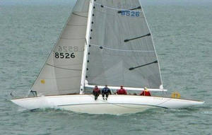 Used Potter Design 8 Meter Antique and Classic Sailboat For Sale