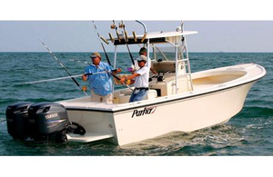 Used Parker 2501 Center Console Saltwater Fishing Boat For Sale