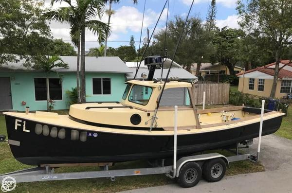 Used Groverbuilt 26 Downeast Pilothouse Boat For Sale