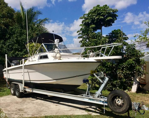 Used Angler 220 WA Walkaround Fishing Boat For Sale