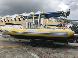 Used Commercial Watersports Seaquest Rib Commercial Boat For Sale