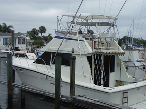 Used Hatteras Sportfish Flybridge Boat For Sale
