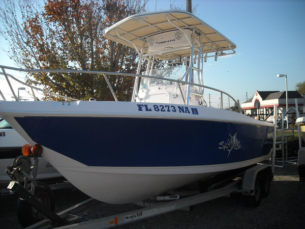 Used Pro-Line 21 Sport Center Console Fishing Boat For Sale