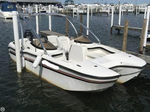 Used Aksano F18 Power Catamaran Boat For Sale