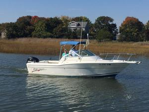 Used Sport-Craft 211wa Saltwater Fishing Boat For Sale