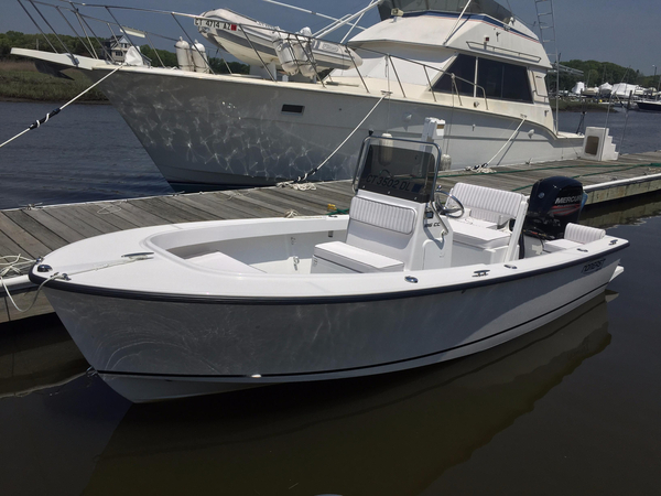 Used Noreast Boats 186 CC Saltwater Fishing Boat For Sale