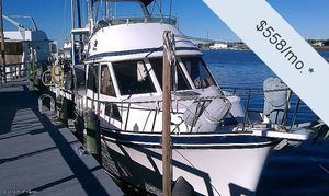 Used Golden Star 35 Sundeck Trawler Boat For Sale