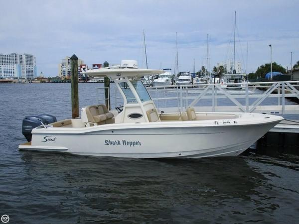 Used Scout 245XSF Center Console Fishing Boat For Sale