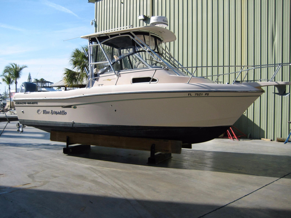 Used Grady-White 232 Gulfsteam Saltwater Fishing Boat For Sale