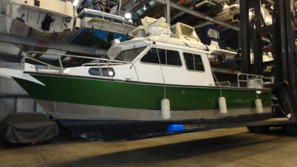 Used Almar Sounder Twin Diesel Commercial Boat For Sale