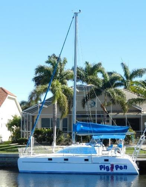 Used Victory 35 Catamaran Sailboat For Sale