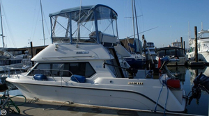 Used Carver 26 Sedan Cruising Bridge Express Cruiser Boat For Sale