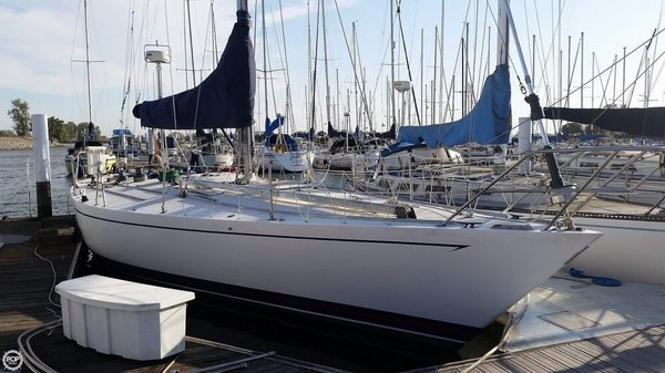 Used Choate 40 Custom Sloop Sailboat For Sale