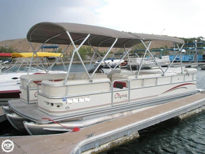 Used Odyssey Tri-Toon 522c Pontoon Boat For Sale