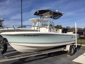 Used Sea Pro 186 Center Console Saltwater Fishing Boat For Sale