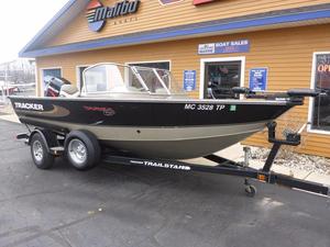Used Tracker Targa 17 Aluminum Fishing Boat For Sale