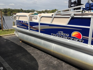 Used Sun Tracker Party Barge 20 DLX Pontoon Boat For Sale