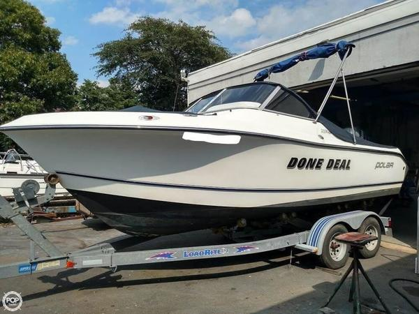 Used Polar 2100 DC Cruiser Boat For Sale