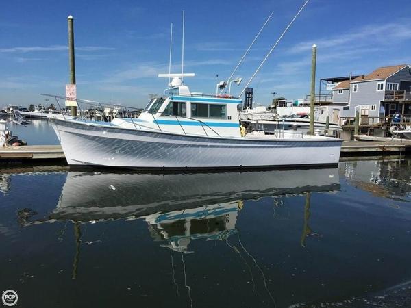 Used Henriques 35 Offshore Greenstick Bandit Boat Charter Boat For Sale