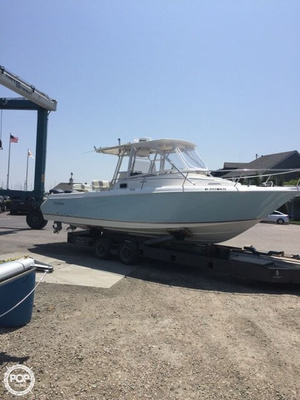 Used Cobia 312 Sport Cruiser Walkaround Fishing Boat For Sale