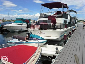 Used Holiday Mansion 43 House Boat For Sale